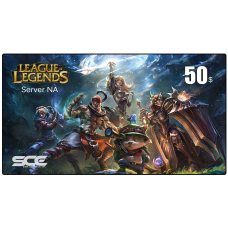 LEAGUE OF LEGENDS 50$ ( NA )