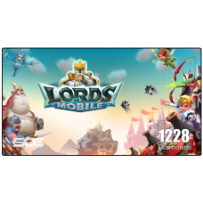 LORDS MOBILE ( 1228 Diamonds )