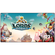 LORDS MOBILE ( 123 Diamonds )