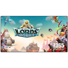 LORDS MOBILE ( 7365 Diamonds )